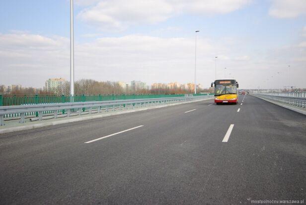 Archiwalne zdjęcie z testów mostpolnocny.warszawa.pl