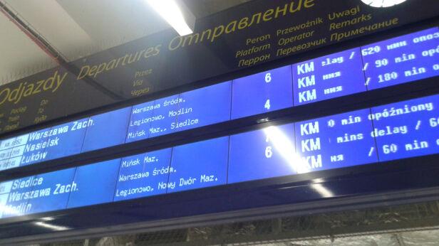 Pociągi opóźnione Konrad / Kontakt24