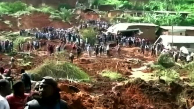 W Kamerunie zeszły lawiny błotne. Co najmniej 42 ofiary śmiertelne