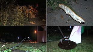 Nocne wichury na Pomorzu: zerwane dachy i powalone drzewa