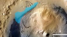 Na Marsie istniało wielkie jezioro. Znalazł je łazik Curiosity