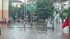 Ostrów Mazowiecka - centrum miasta pod wodą (Kontakt 24/Magdalena)
