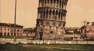 Krzywą Wieżę w Pizie odwiedza rocznie około 10 milionów turystów