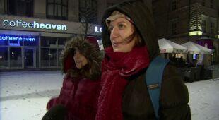 Powrót zimy do Krakowa. spadnie tam do 10 cm śniegu (TVN24)